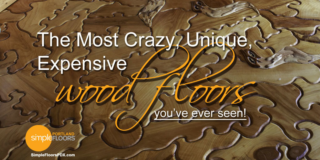 The most crazy expensive wood floors for Most expensive floor