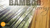 Bamboo Floors – Everything You Need To Know