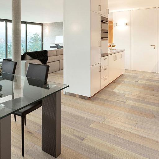 British Isles Swansea Wire Brushed Oak Engineered Floor