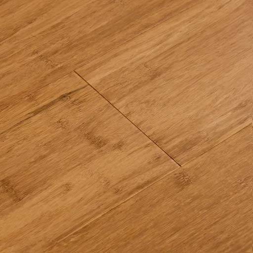 Mocha Fossilized Smooth Bamboo Wood Floor Click