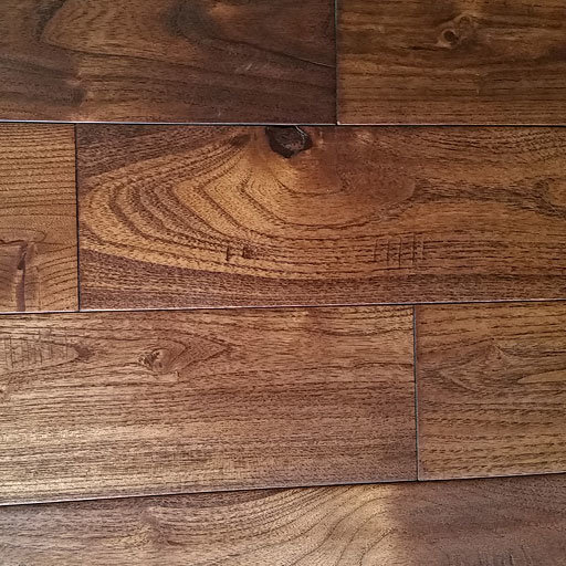 French Country Golden Teak Handscraped Hardwood Flooring