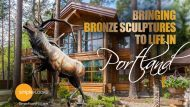 Bringing Bronze Sculptures To Life In Portland