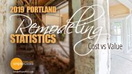 Portland Remodeling Statistics 2019 – Cost vs Value