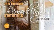 Portland Remodeling Statistics 2019 – Cost vs Value